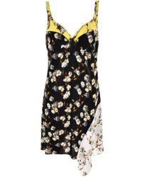 Off-White c/o Virgil Abloh - Floral Asymmetric Dress - Lyst