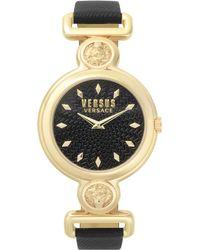 Versus - Sunnyridge Watch Black/gold - Lyst