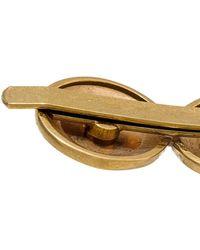 Versace Spilla Per Capelli Medusa in Metallo - Metallizzato