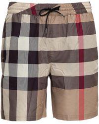 Burberry Shorts da Mare Vintage Check - Multicolore