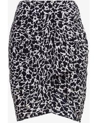 Étoile Isabel Marant Sky Viscose Skirt - Black