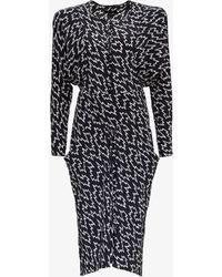 Isabel Marant Ibelky Midi Dress - Black