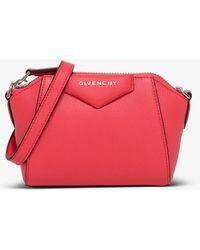 Givenchy Borsa a Tracolla Antigona Nano - Rosa
