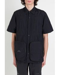 A_COLD_WALL* Shirt With Utility Pockets - Blue