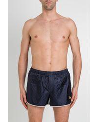 Gucci GG Supreme Swimsuit Shorts - Blue