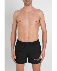 Givenchy Swimsuit Boxer With Logo - Black