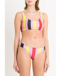 MSGM - Multicolur Stripes Bikini - Lyst