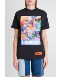 Heron Preston T-shirt Birds - Multicolore