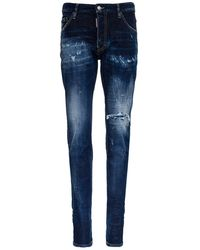DSquared² Jeans Cool Guy in Denim Delavé - Blu