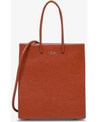 MEDEA Short Long Crossbody Bag - Red