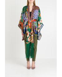 DSquared² China Print Kimono - Multicolor