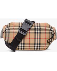 Burberry Sonny Waist Bag - Natural