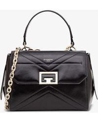 Givenchy Borsa a Mano ID Flap Mini - Nero