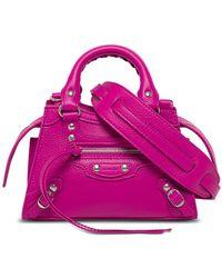 Balenciaga Neo Classic Leather Handbag - Pink