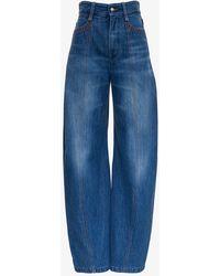 Chloé Cotton Denim Jeans - Blue