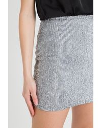 retroféte Sequined Miniskirt - Multicolour