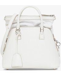 Maison Margiela 5ac Mini Handbag In Leather - White