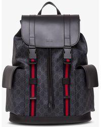 Gucci GG Supreme Backpack - Black
