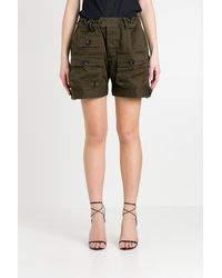DSquared² Army Cargo Shorts - Green