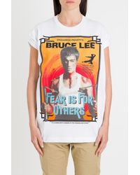 DSquared² Bruce Lee Tee - Multicolor