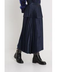 Noir Kei Ninomiya - Pleated Skirt - Lyst