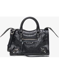 Balenciaga City Classic Mini Bag - Black