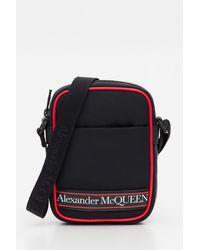 Alexander McQueen Borsa a Tracolla con Logo - Multicolore