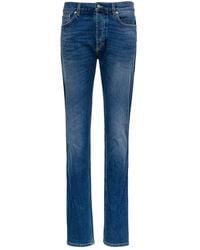 Givenchy Five-pocket Stretch Denim Jeans - Blue