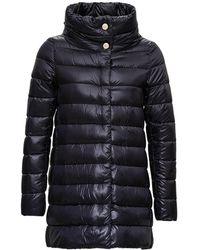 Herno Amelia Down Jacket In Nylon - Black