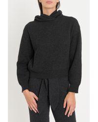 Nanushka - Hooded Sweatshirt - Lyst