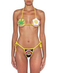 Gcds Bikini in crochet - Multicolore