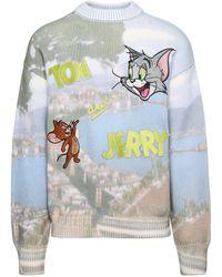 Gcds Tom & Jerry Napoli Logo Sweater - Multicolor