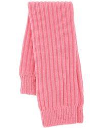 Miu Miu Pink Stretch Wool Blend Leg Warmers Nd