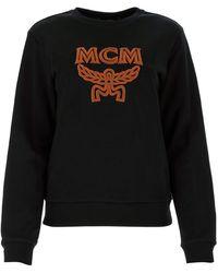 MCM Black Cotton Sweatshirt