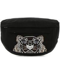 KENZO Fabric Belt Bag - Black