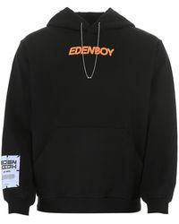 McQ Black Cotton Sweatshirt Nd Uomo