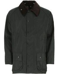 Barbour Dark Green Cotton Beaufort Jacket Nd Uomo