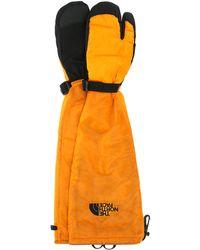 MM6 by Maison Martin Margiela Nylon Expedition Tabi Gloves - Orange