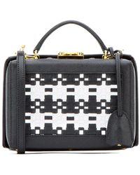 Mark Cross Black Leather Small Grace Handbag Nd