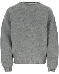 Fear Of God Gray Wool Sweater