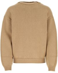Fear Of God Beige Wool Sweater - Natural
