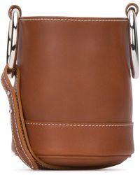 Simon Miller Caramel Leather Bonsai 15 Bucket Bag Nd Donna - Brown