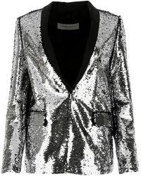 Golden Goose Deluxe Brand silver Sequins Blazer  - Multicolor