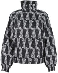 Opening Ceremony Printed Polyester Leopard K-way - Multicolor