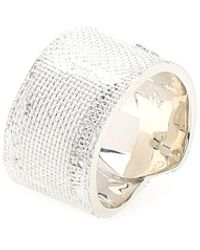 Ambush 925 Silver Tape Ring Nd Uomo - Metallic