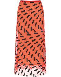 Maison Margiela Stretch Mesh Skirt Donna - Multicolor