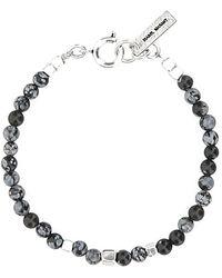 Isabel Marant Stone And Brass Bracelet Uomo - Metallic