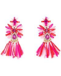 Shourouk Sicily Earrings Nd - Pink