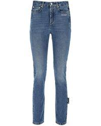 Off-White c/o Virgil Abloh Denim Jeans - Blue