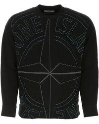 Stone Island - Cotton Sweater Uomo - Lyst